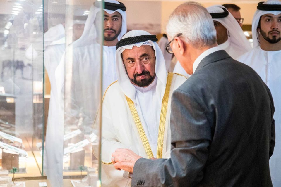 In pictures: Ruler of Sharjah launches 'largest-ever' exhibition of UAE archaeological treasures in Sharjah