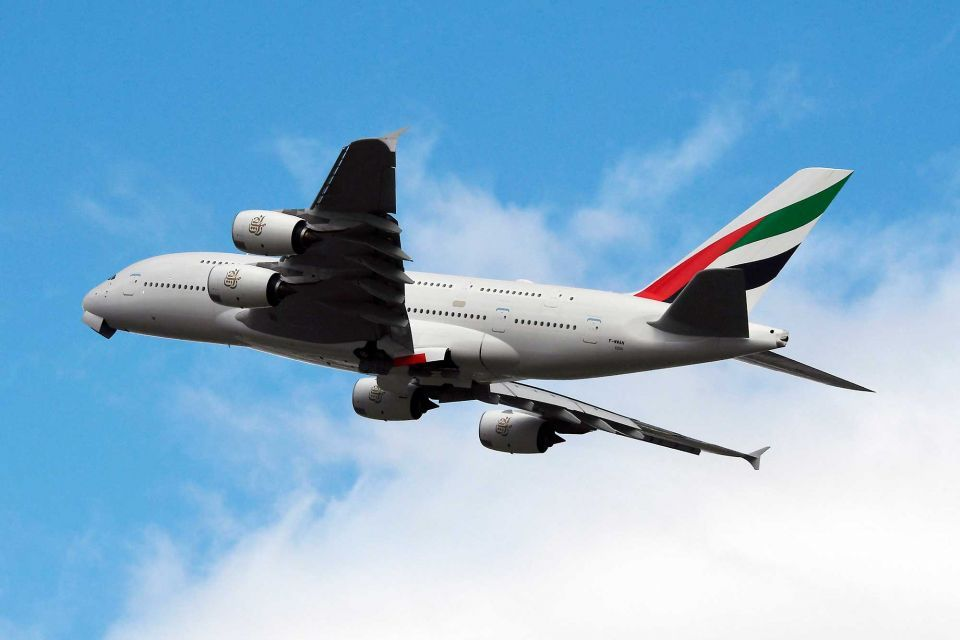 Emirates confirms London flight was diverted due to 'high winds'
