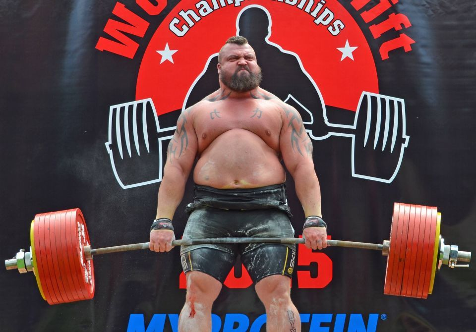World's strongest man to appear at Dubai Muscle Show