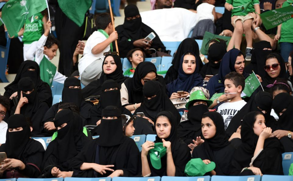 Saudis to allow women into sports stadiums from next year