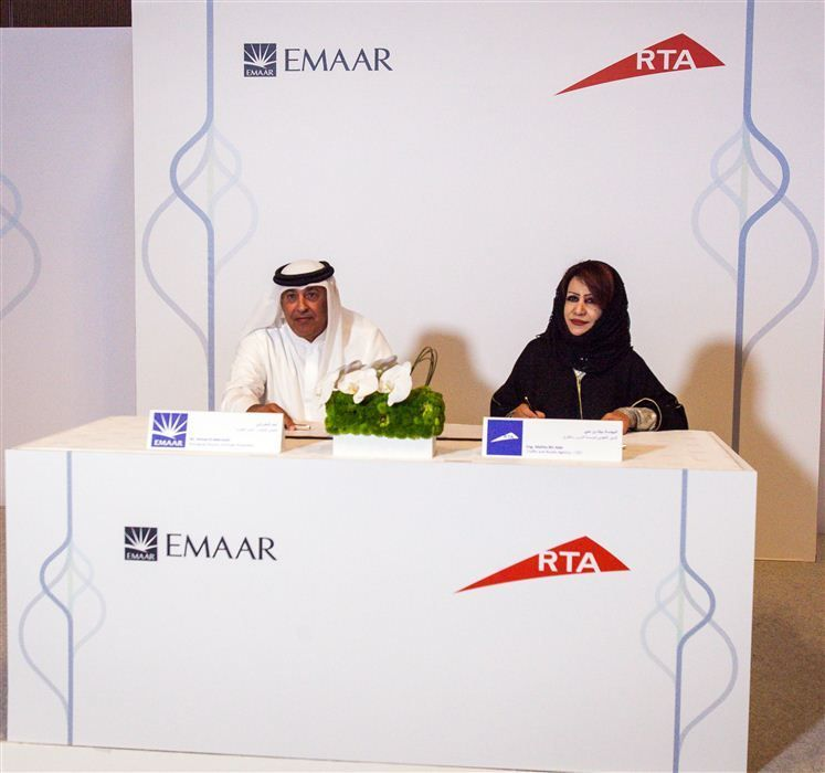 Emaar, RTA ink deal to launch driverless vehicles in Downtown Dubai