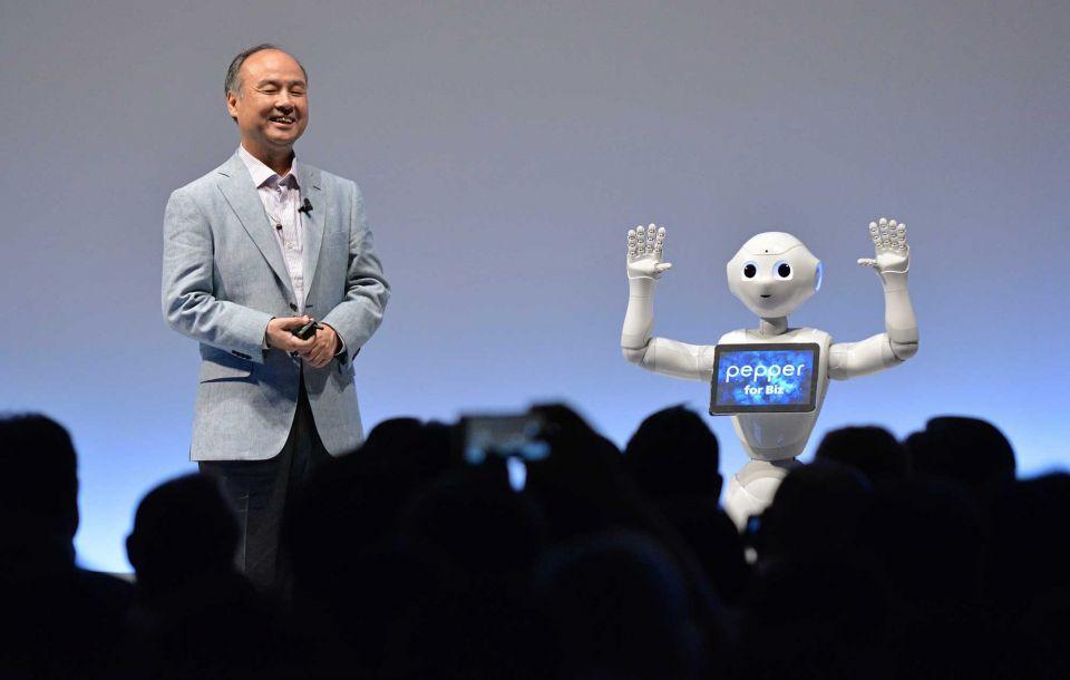 SoftBank Group triples net profit in first quarter