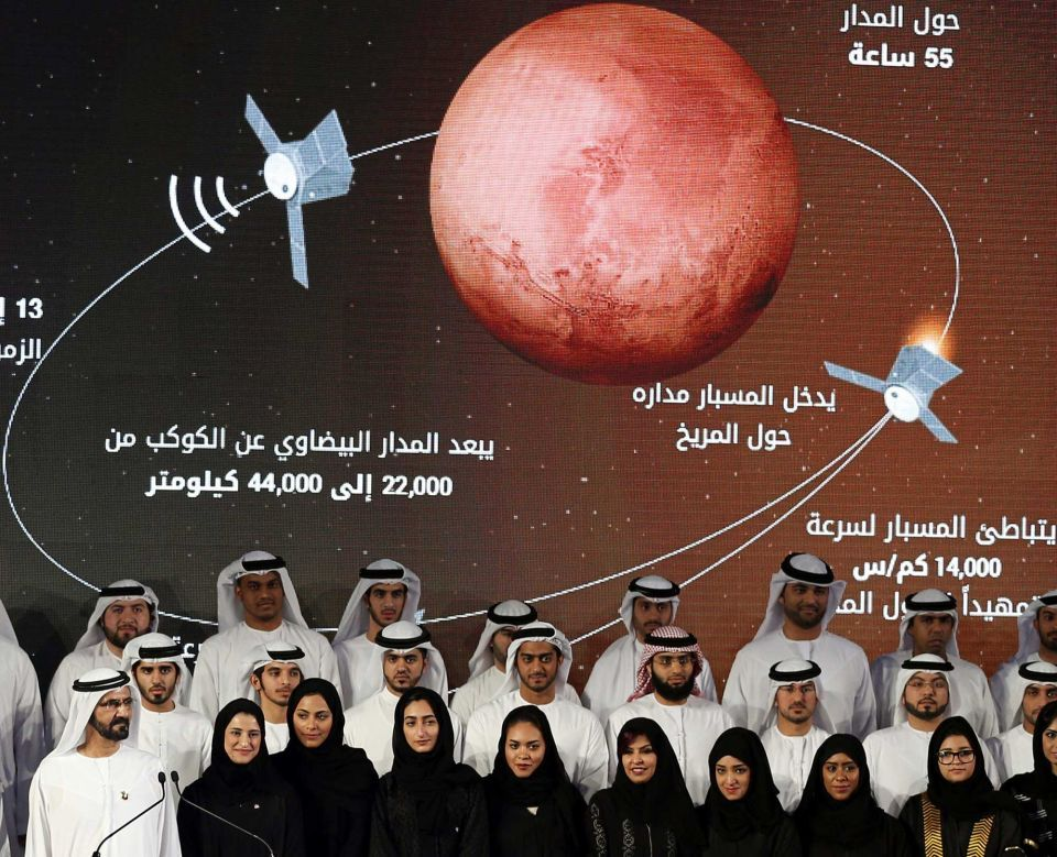 In pictures: 5 things to know about... The UAE's race to space