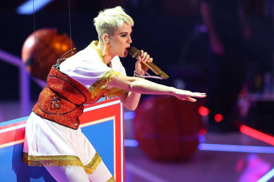 Katy Perry to play New Year's Eve concert in Abu Dhabi