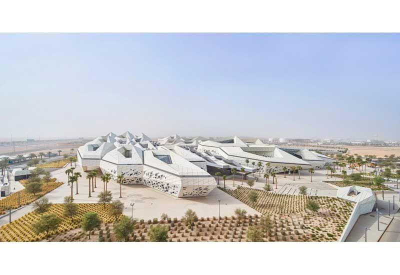 In pictures: Zaha Hadid's KAPSARC research centre in Saudi Arabia