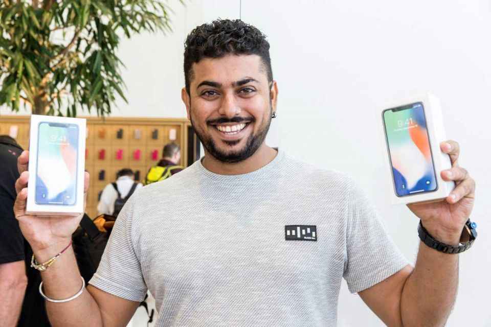 In pictures: iPhone X now available in the UAE