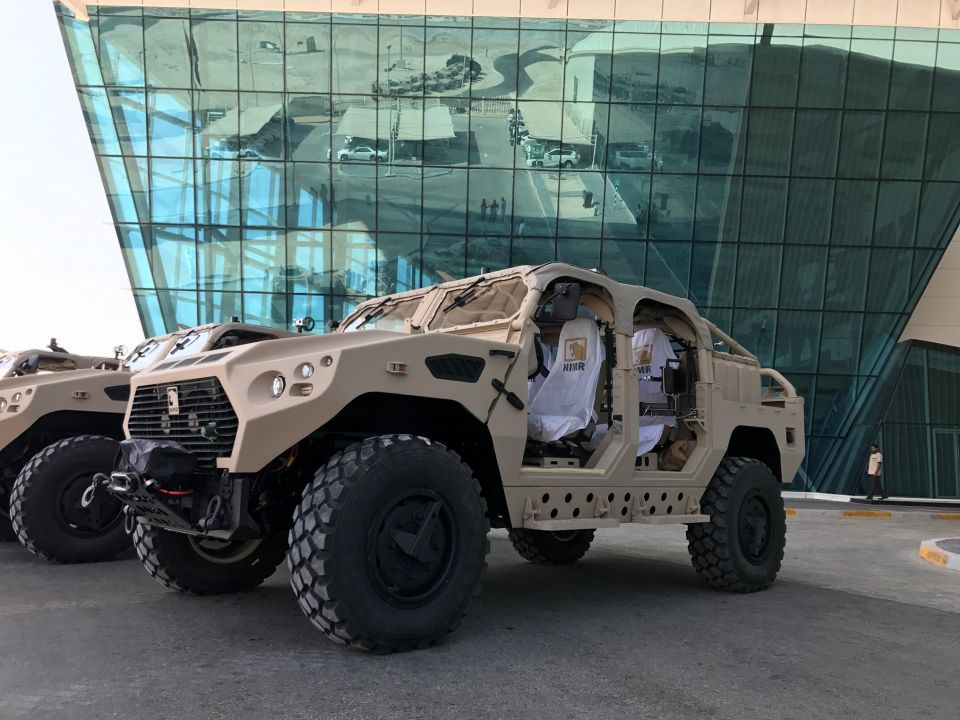 UAE's NIMR to supply Turkmenistan with military vehicles