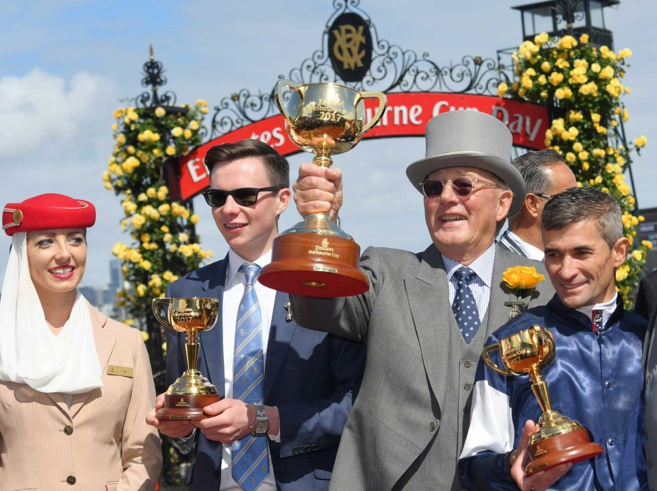 Rekindling leads Irish sweep at Melbourne Cup
