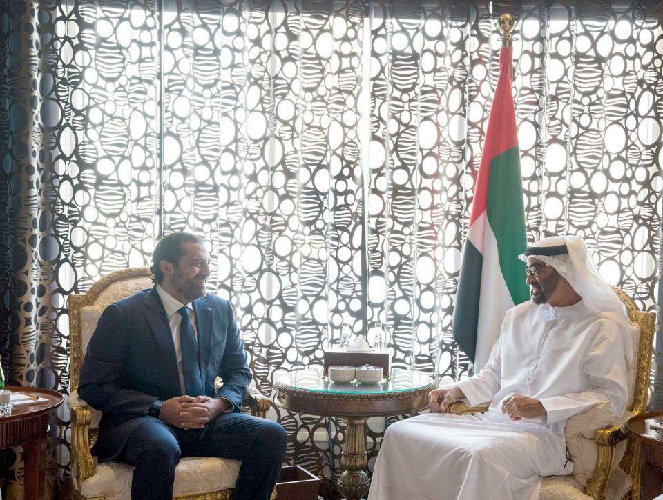 Lebanon's resigned PM visits Abu Dhabi