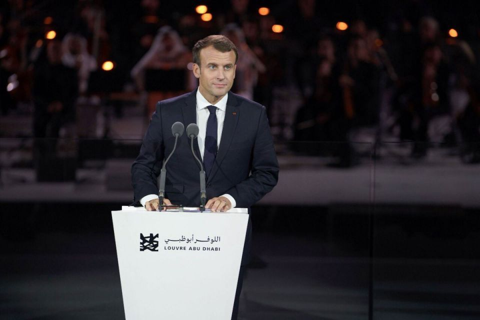 Macron urges 'firm' stance on Iran during first Middle East trip