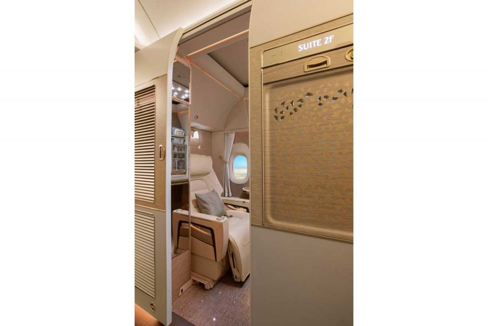 In pictures: Emirates unveils 'game-changing' new cabins for its Boeing 777 fleet