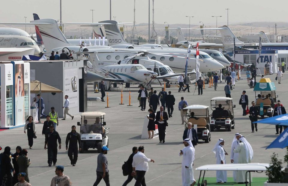 In pictures: Dubai Airshow 2017 kicks off at Dubai World Central