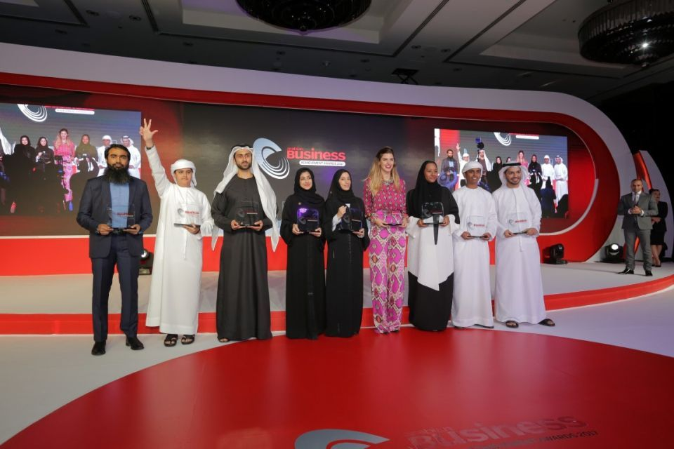 Arabian Business honours current and future stars at Achievement Awards