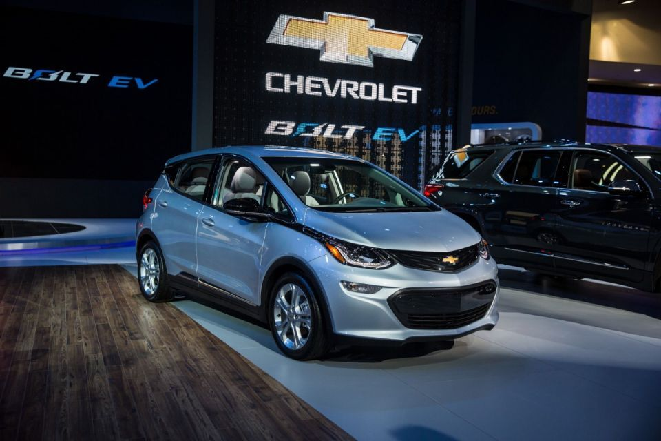 Chevrolet's electric Bolt to go on sale in Gulf 'within a year'