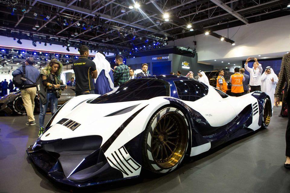 In pictures: Dubai International Motor Show