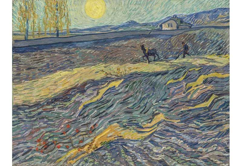 Van Gogh sells for $81.3 million, just shy of auction record