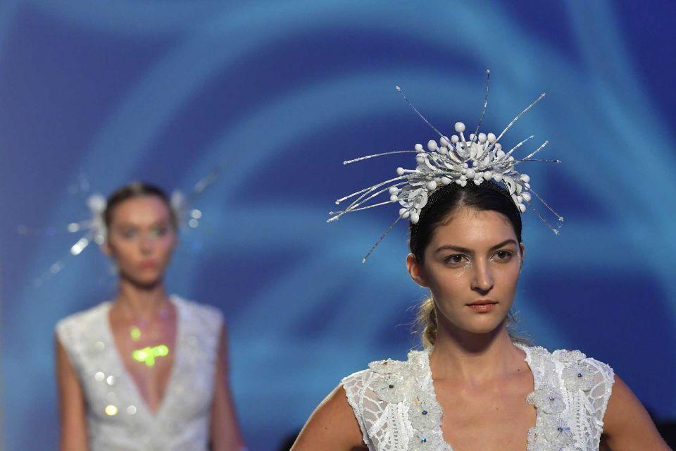 Fairies, brides in black descend on Arab Fashion Week