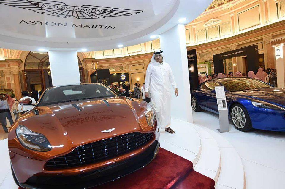 Aston Martin resale value 50% to 55%, says MidEast exec