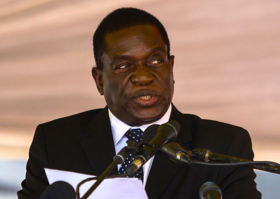Zimbabwe ruling party names Mnangagwa leader as Mugabe fired