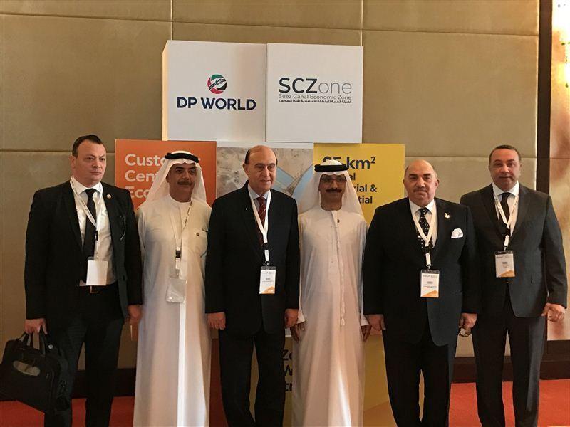 DP World unveils plans for new Suez Canal economic zone