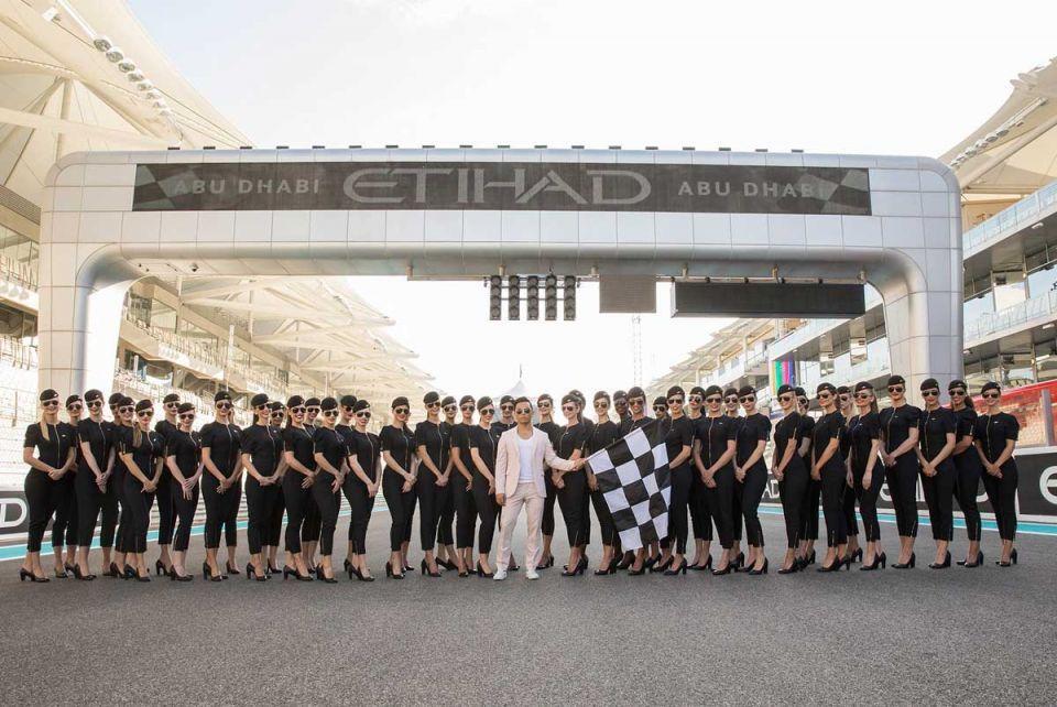 Etihad reveals new Abu Dhabi Grand Prix grid uniform