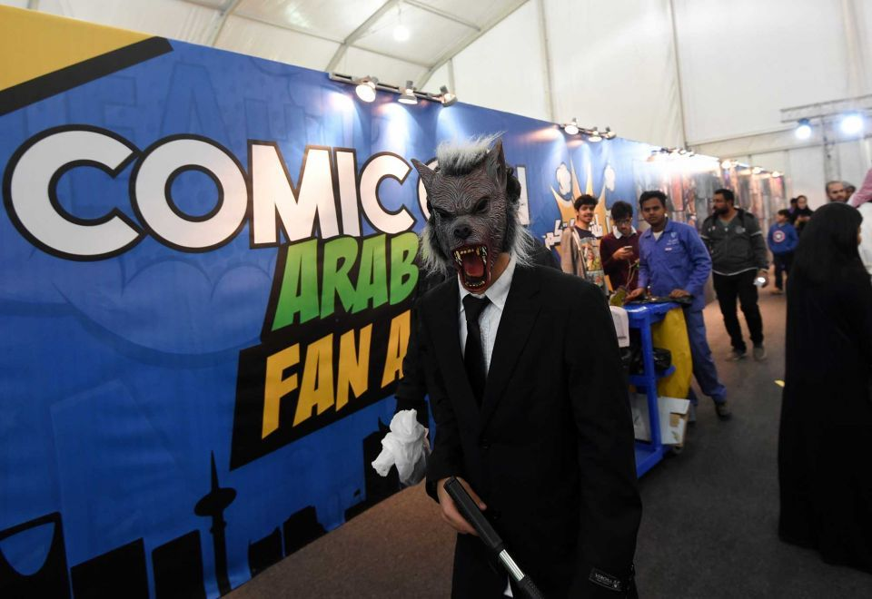 In pictures: Fans of all ages celebrities Comic-Con Arabia in Riyadh