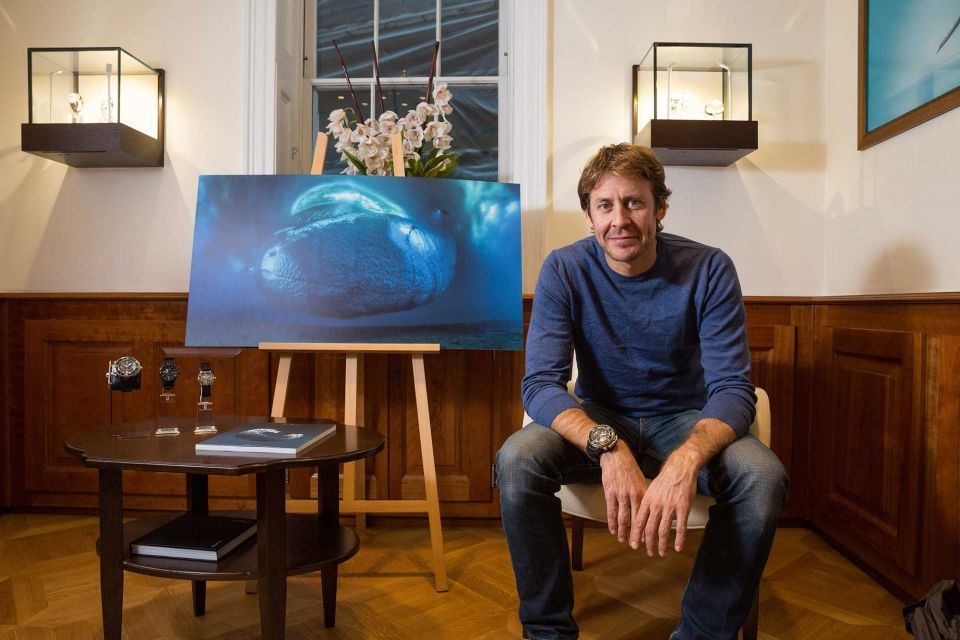 Blancpain's partner Laurent Ballesta wins the Wildlife Photographer of the Year's 'Earth's Environments' category