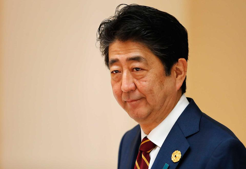 Japanese PM Shinzo Abe 'deeply worried' by Middle East tensions ...