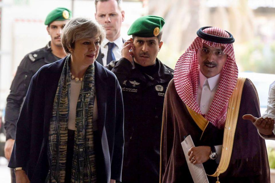 British PM May embarks on visit to Saudi Arabia, Jordan