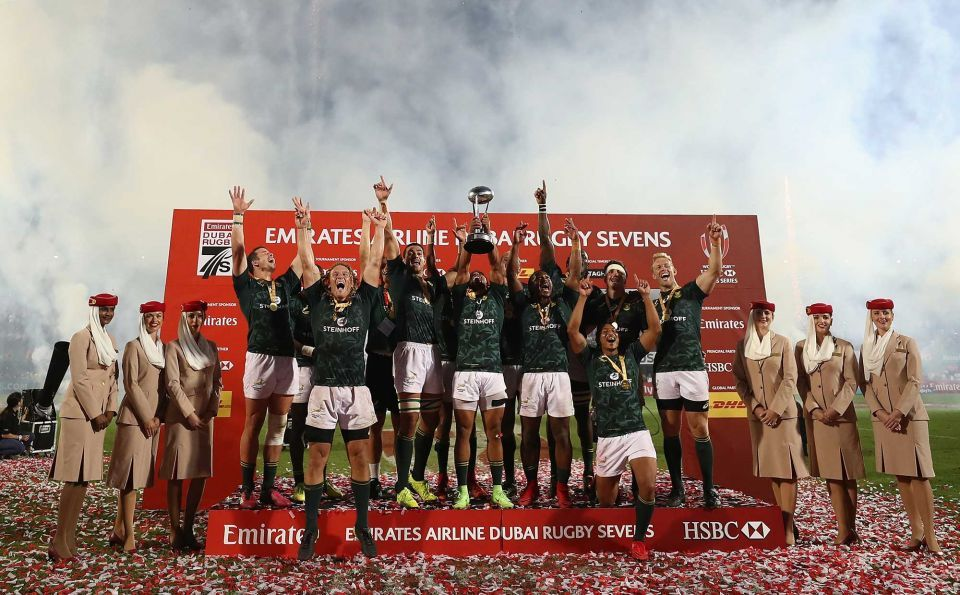 In pictures: South Africa clinch Emirates Dubai Rugby Sevens title