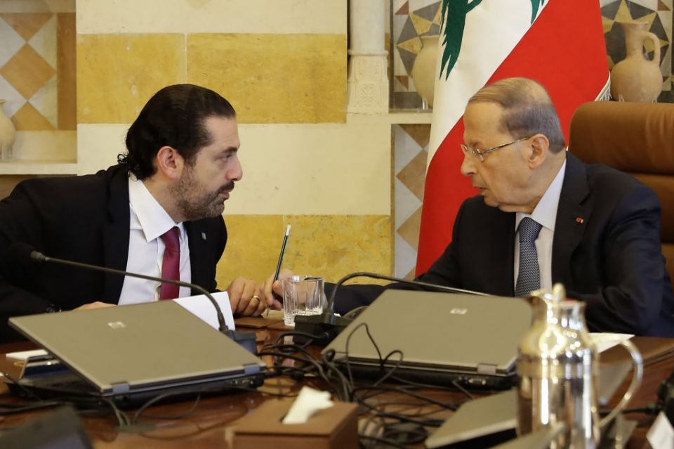 Lebanon's Hariri to stay in office after allies' conflict pledge