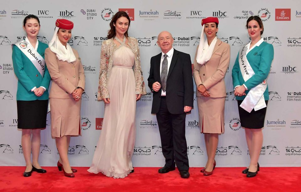 In pictures: Busy weekend at Dubai International Film Festival 2017