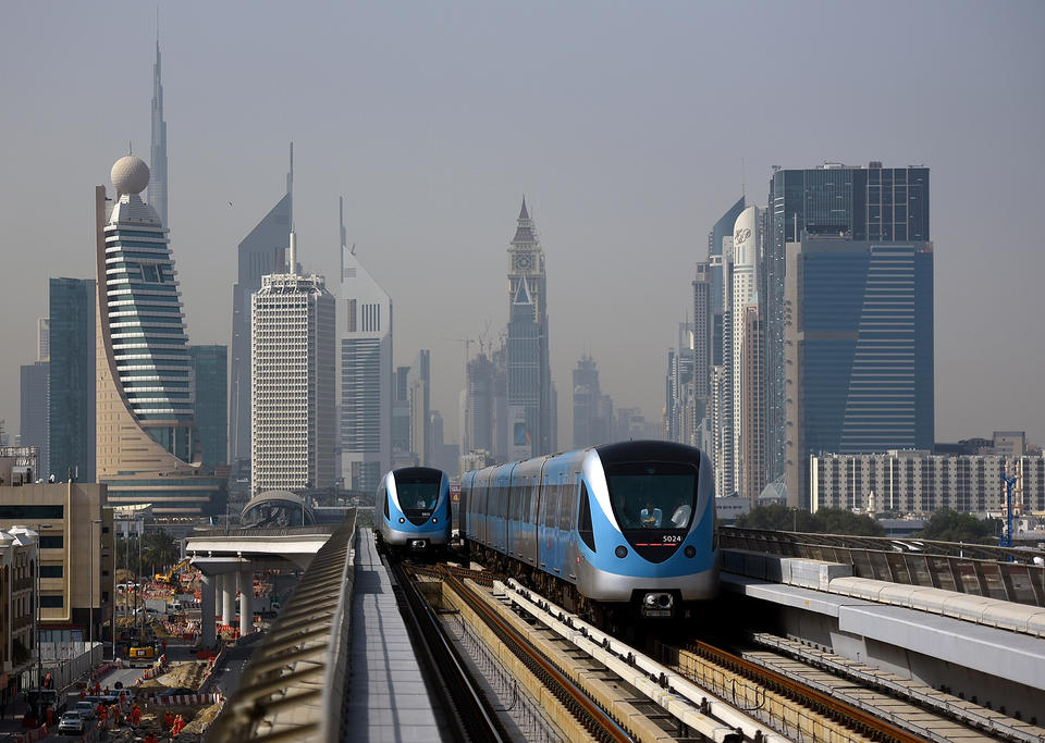 Dubai public transport riders rise to more than 550m in 2017