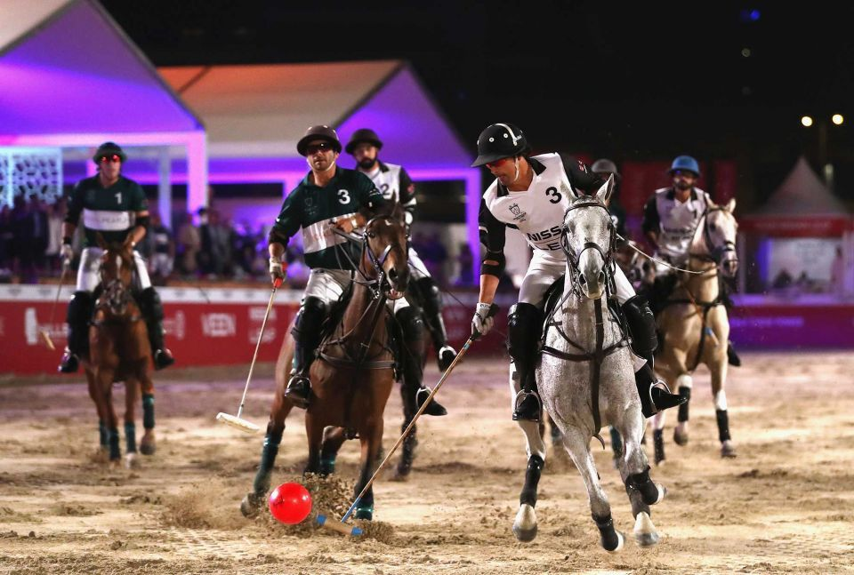 In pictures: Nissan Leaf won the 2017 Beach Polo Cup Dubai