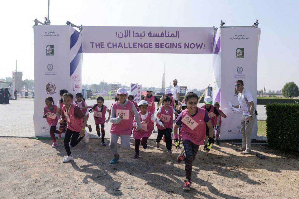 Sharjah hosts first-ever all-female obstacle race