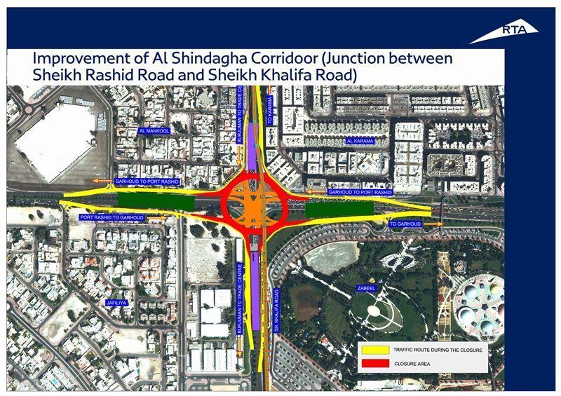Dubai's RTA set to open new 4km road diversions