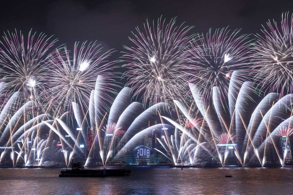In pictures: New Year celebrations around the world