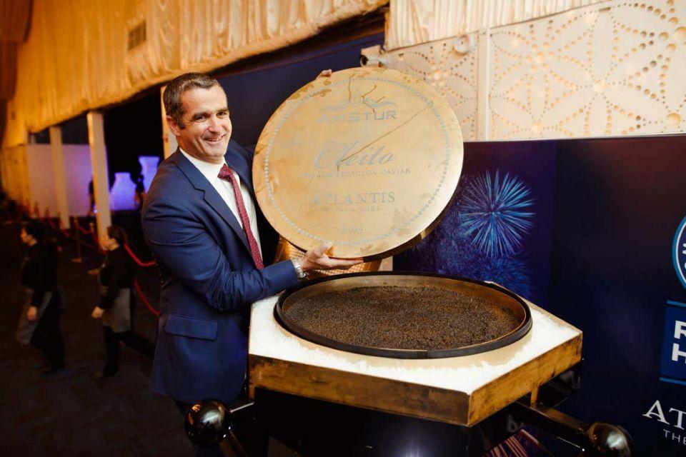 Dubai's Atlantis breaks world record for largest caviar tin