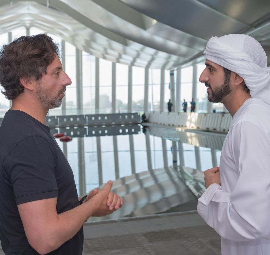 Why Dubai and Google's stories are similar - Crown Prince
