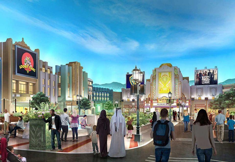 Rides installed at $1bn Warner Bros World Abu Dhabi