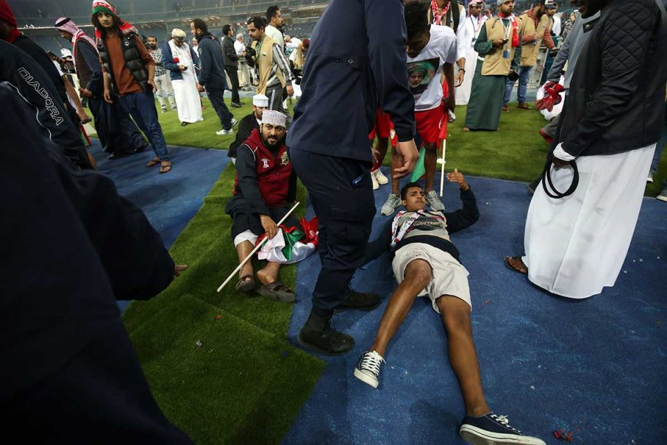 Omani fans discharged from hospital after stadium barrier collapse in Kuwait