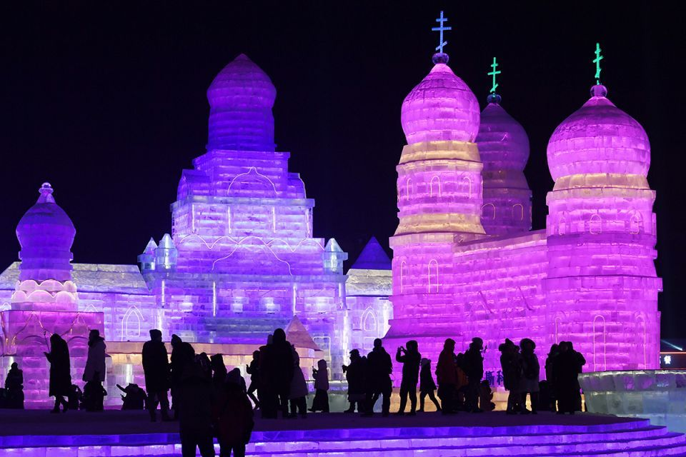 In pictures: World-renowned Harbin Ice and Snow Sculpture festival