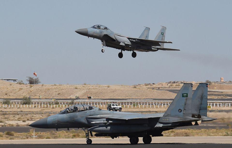 Saudi warplane crashes in Yemen