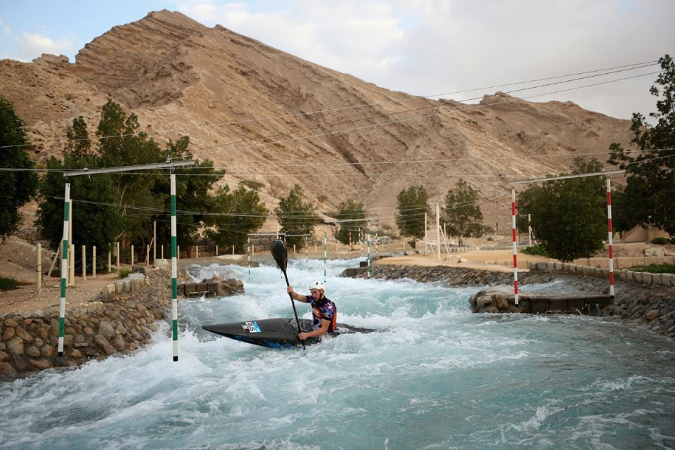 In pictures: International Canoe Slalom training at Al Ain's Wadi Adventure