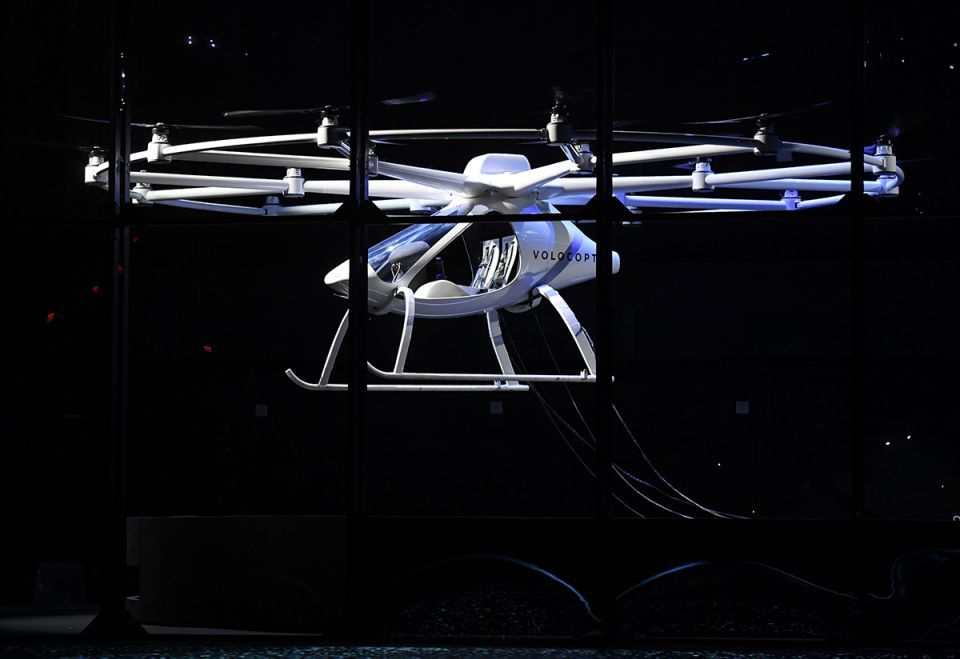 'Air taxi' tested in Dubai takes flight in Las Vegas