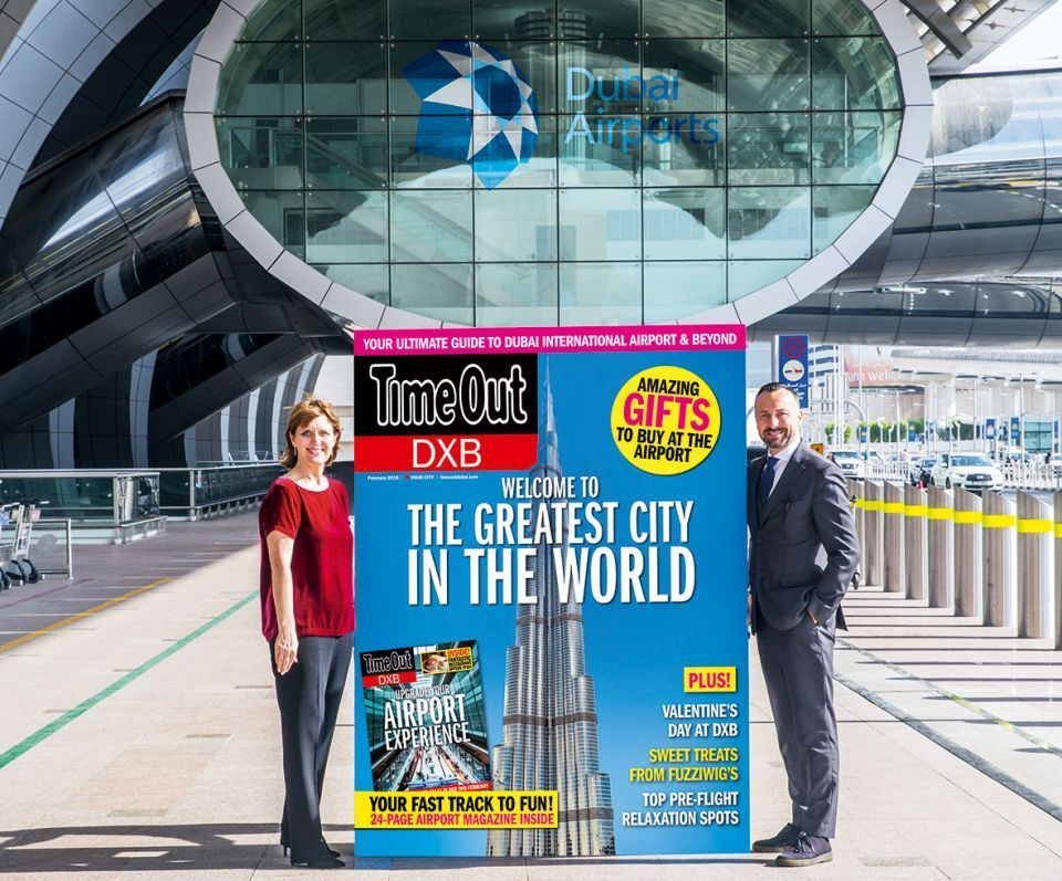 ITP and Dubai Airports launch Time Out DXB