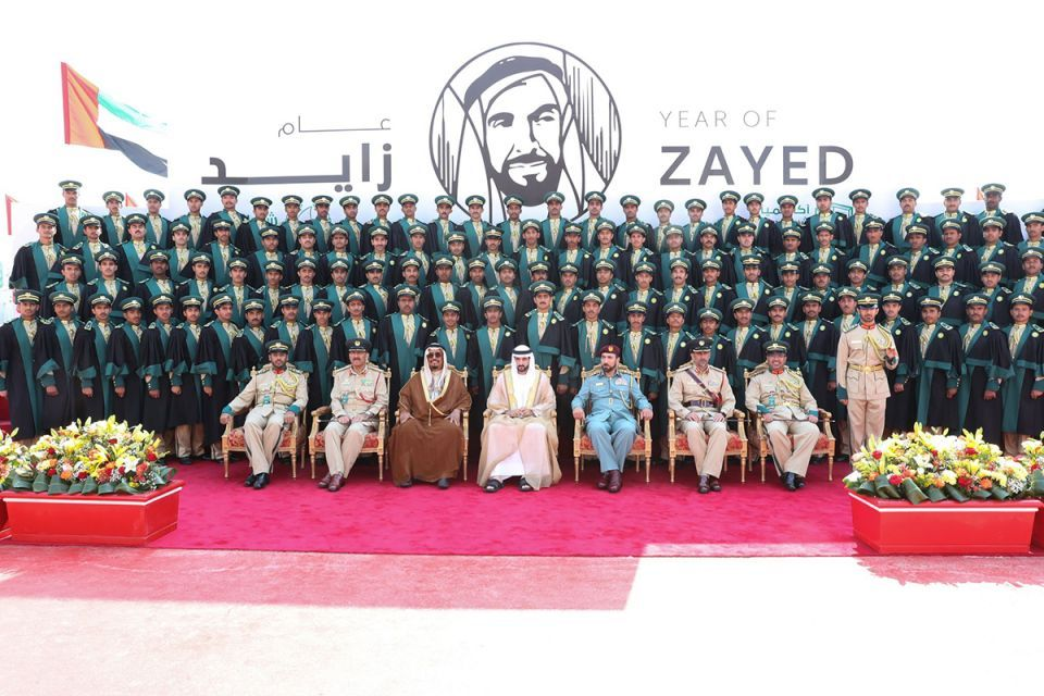 In pictures: Dubai Crown Prince attends Dubai Police Academy graduation ceremony