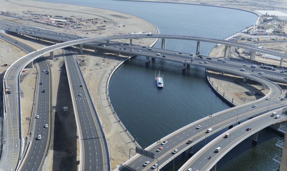 Key bridge set to open over Dubai Water Canal