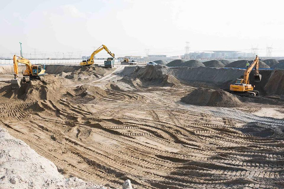 UAE's Azizi reveals construction progress on flagship Dubai project
