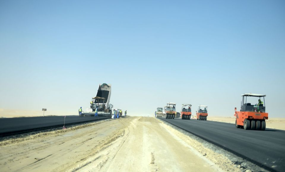 Construction of $175m UAE highway now 63% complete